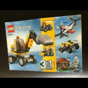 LEGO Creator Instruction Manual ONLY